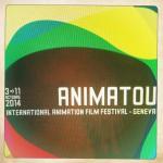 Détail Affiche Festival Animatou (Festival international du film d'animation, 9ème édition) © Animatou