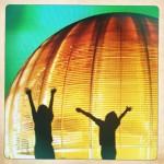 Détail Le globe de la Science et de l'innovation du CERN © CERN 2010 PH-EDU