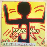 Détail Affiche Keith Haring « The Political Line » au Musée d'Art Moderne, Paris © Musée d'Art Moderne, Paris 2013